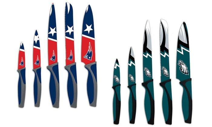 Nfl Kitchen Knife Set 5 Piece