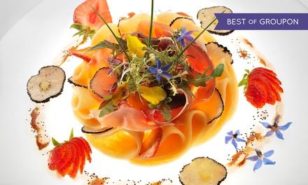 Déjeuner ou dîner Découverte en 6 mets pour 2 convives dès 135 € au restaurant LOasis