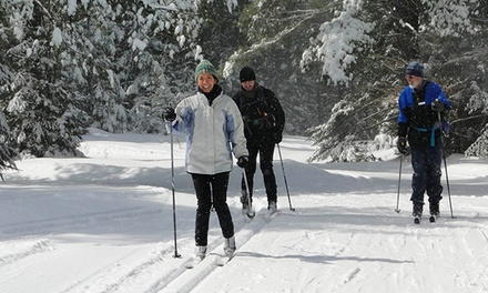 Winter Sports Pass for Two or Four or Ski-Like-A-Finn Package for Two at Lapland Lake (Up to 51% Off)