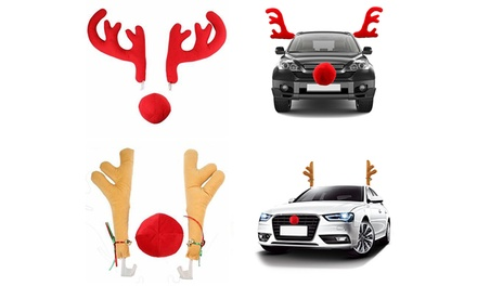 Christmas Car Antlers Costume: Standard $15 or Large Set $25