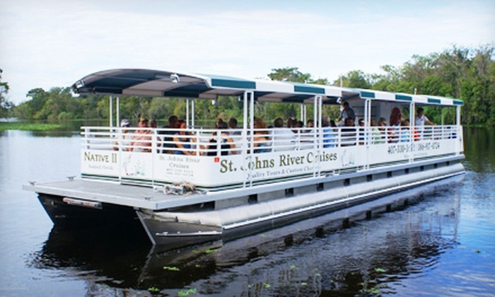St. Johns River Cruises - Orange City: $11 for a Two-Hour Narrated Ecological River Cruise from St. Johns River Cruises (Up to $22 Value)