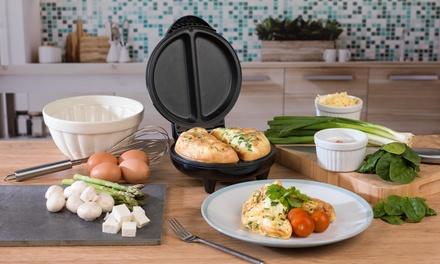 Salter EK2716 NonStick 750W Dual Omelette Maker