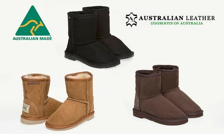 $39.95 for a Pair of Australian Leather Kids' Ugg Short Classic Boots Don't Pay $150