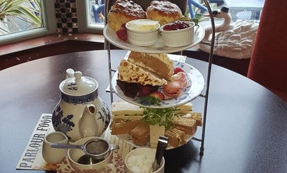 Bottomless Prosecco Afternoon Tea for Two or Four at The Parlour