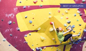 The Climbing Academy Glasgow: Indoor Climbing Package with Shoe Hire and Return Visit at The Climbing Academy Glasgow (Up to 71% Off)