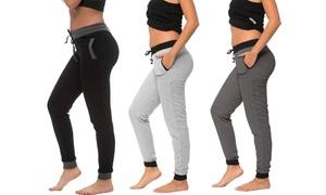 Coco Limon Women's Cotton-Blend Sweatpants (3-Pack)