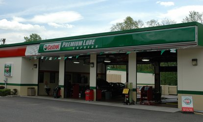 Conventional, Synthetic-Blend, or Full-Synthetic Oil Change at Castrol Premium Lube Express (Up to 39% Off)