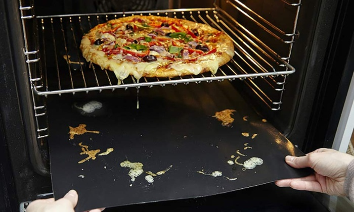 Up to Four Two-Packs of Non-Stick Oven Liners from £3.98