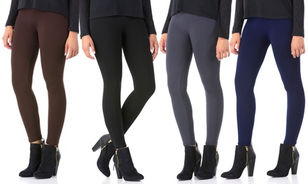 Sociology Women's Fleece Leggings (2-Pack) | Groupon Exclusive