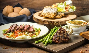The All American Steakhouse Ashburn: Steakhouse Fare for Two or Four at The All American Steakhouse (50%  Off)