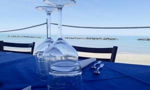 Chalet Alta Marea: Menu di pesce con Granchio e vino per 2 o 4 persone da Chalet Alta Marea (sconto fino a 56%)