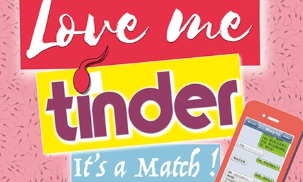 1 place pour Love me Tinder, date au choix à 15 € auThéâtre Comédie Solferino