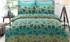 Oasis Printed Quilt Cover Set