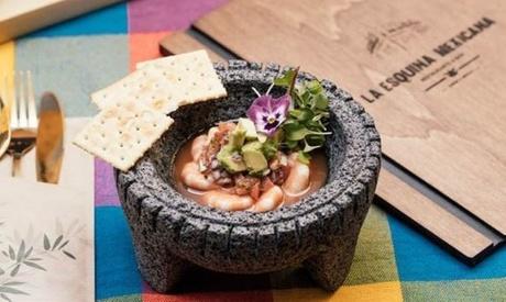 Menú mexicano con margarita, entrante, principal, postre y bebida desde 24,99 € en La Esquina Mexicana