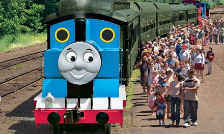 Day Out with Thomas at Orange Empire Railway Museum (Up to 30% Off). 36 Options Available.