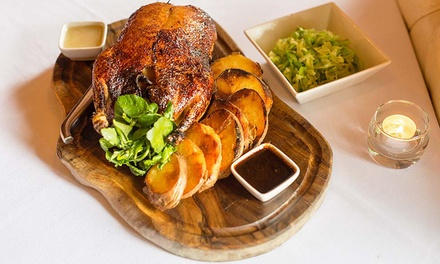 Three Course Sunday Lunch and Premium Champagne at The Crazy Bear £24.95 (50% off)