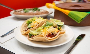 El San Luis Mexican Restaurant: $14 for a Mexican Meal for Two with Fountain Drinks at El San Luis Mexican Restaurant (Up to $23.56 Value)