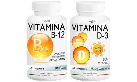 Fino a 240 alleati per la salute vitamina B-12 e vitamina D-3
