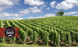 Pineapple Tours: Wine and Distillery Tour for One ($109) or Deluxe Tour for Four People ($516) from Pineapple Tours (Up to $640 Value)