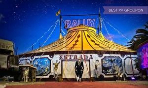"""Circo Raluy Historic: Entrada al espectáculo """"Fortius"""" para adulto o niño del 10 al 31 de enero desde 6 € en Circ Raluy Històric"""