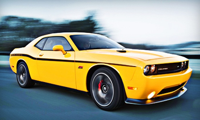 American Muscle Car Rentals - Bastrop: $125 for a One-Day Dodge Challenger Rental from American Muscle Car Rentals in Bastrop ($249.99 Value)