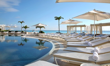All-Inclusive Stay at Sandos Cancun Luxury Resort in Cancun, with Dates into April 2017