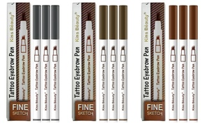 Tattoo Eyebrow Pen Ink Gel (3-Pack)