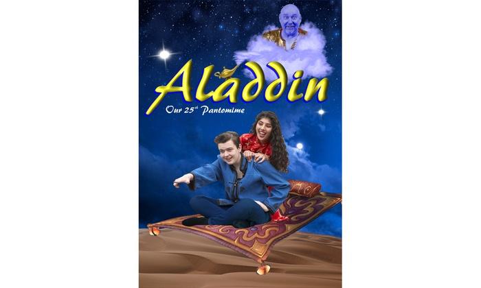 Family Ticket to Aladdin Panto