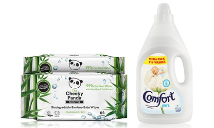 Wipes and Comfort Conditioner