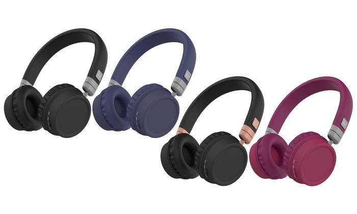 d6c5544066c1fd Kitsound Harlem Bluetooth Headphones | Groupon Goods