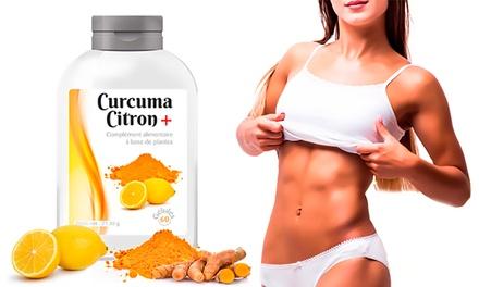 Jusquà 1 an de cure Curcuma Citron, 100% naturelle, pour perdre du poids efficacement et favoriser la détox