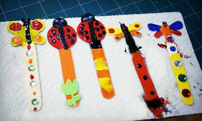 Bull City Craft - Rockwood: Birthday Party for Up to 12 or $6 for $12 Worth of Drop-In Crafting at Bull City Craft in Durham (Up to 51% Off)