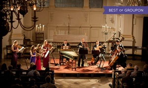 Candlelight Concerts: London Concertante: Vivaldi's Four Seasons by Candlelight at St Anne'sCathedral on 23 April 2017 (Up to 49% Off)