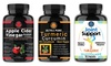 Angry Supplements Apple Cider Vinegar, Turmeric, and Joint Supplements
