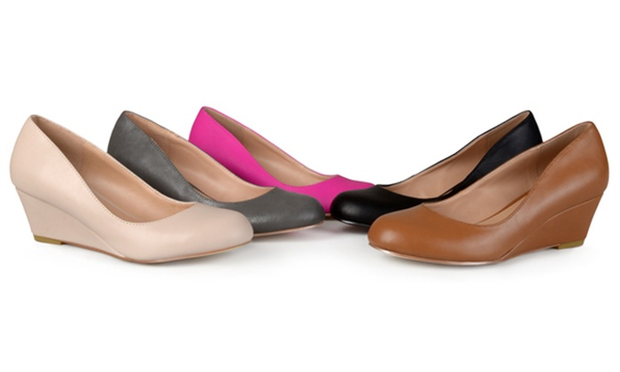 bfe3c65839c8 Journee Collection Women s Wide Width Round Toe Wedges (Sizes 7.5 ...
