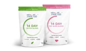 Thin Tea Detox and Fat Burn Set (3-Piece) at eFamilyMart, plus 9.0% Cash Back from Ebates.