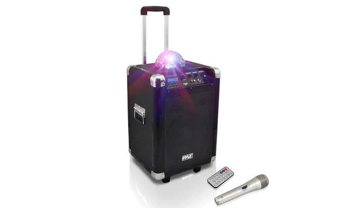 Disco Jam Portable Bluetooth PA Speaker System