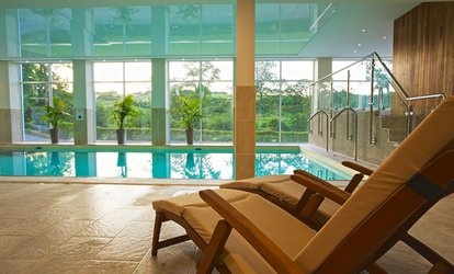image for Spa Day with Treatment, Two-Course Meal and Prosecco for Two at Best Western The Dartmouth Hotel, Golf & Spa (60% Off)
