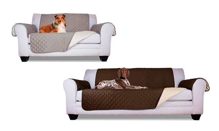 housses de canap r versibles groupon. Black Bedroom Furniture Sets. Home Design Ideas