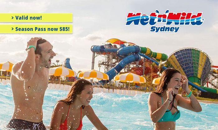 Wet'n'Wild Sydney - Wet'n'Wild Sydney: Wet'n'Wild Sydney: Season Pass ($85) or Premium Season Pass ($99.99) (Up to $130 Value)
