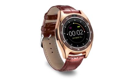 Smartwatch Aquarius AQ219 con correa en color negro o marrón