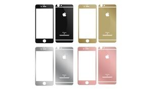 Verre trempé avant/arrière iPhone