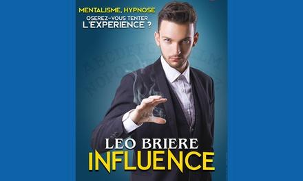 2 places en 2e catégorie pour Léo Brière, date et heure au choix, à 27 € au Théâtre La Boussole