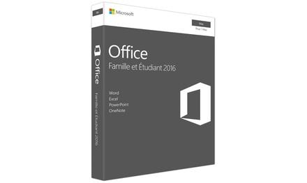 Office famille et étudiant 2016 pour Mac