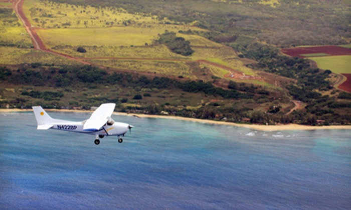 Barbers Point Flight School - Kapolei: $199 for a Plane Tour for Three at Barbers Point Flight School in Kapolei ($407 Value)