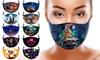 Halloween Print Face Mask