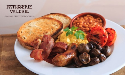AllDay Brunch with Optional Hot Drinks for Two at Patisserie Valerie, Multiple Locations