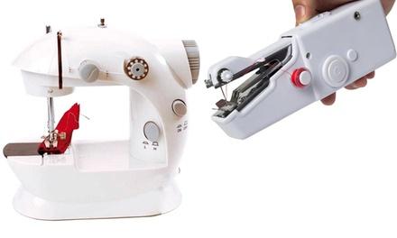 Cucitrice con ago di riserva o mini macchina per cucire portatili