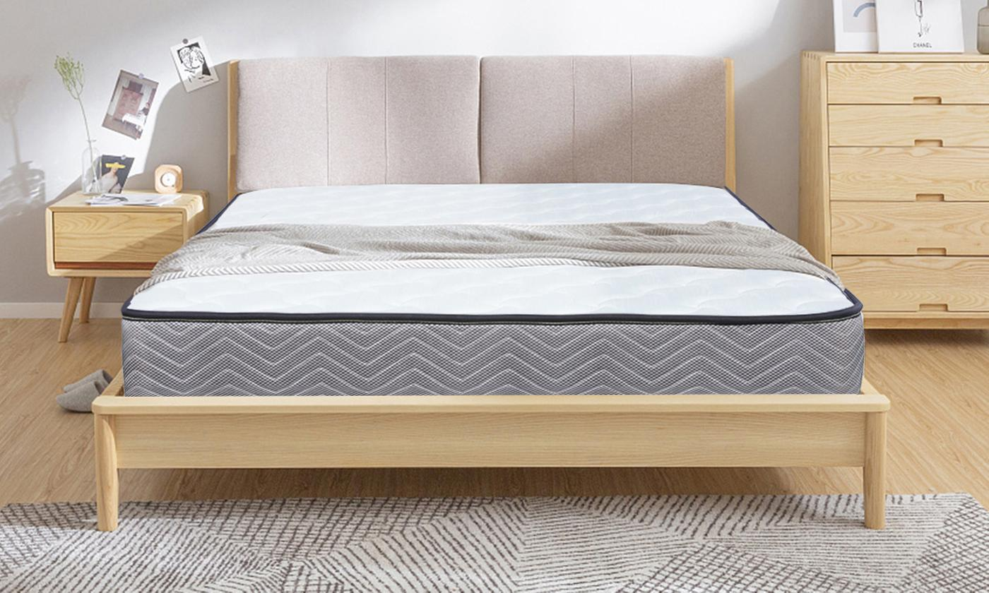Memory Foam Quilted Sprung Mattress from £49.98 (72% OFF)