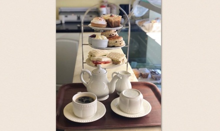 Afternoon Tea for Two or Four at Heather's Coffee Shop